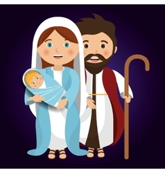 Merry christmas cartoons vector image