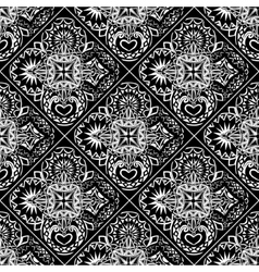 Abstract ornament tiles vector image