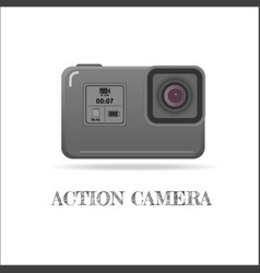 Action extreme camera symbol esp10 vector