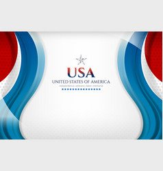 American background template vector
