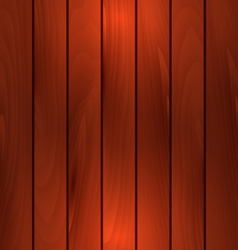 Dark wooden texture plank background with light vector