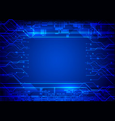 Digital abstract technology vector