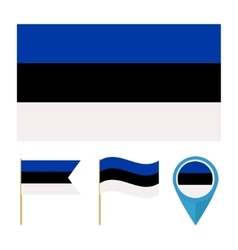 Estonia country flag vector