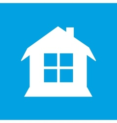 House white icon vector image