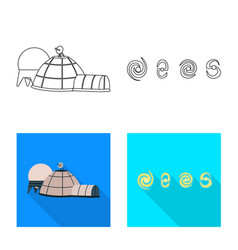 Isolated object astronomy and technology symbol vector