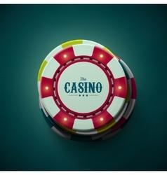 The Casino vector image