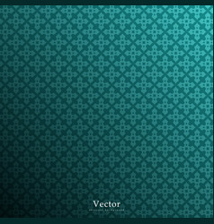 vintage dark green background vector image