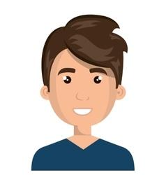Young male cartoon design vector
