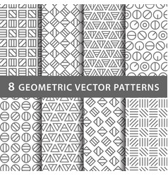 Geometric pattern pack vector