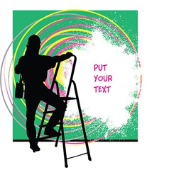 Painter Home improvement vector image