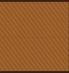 pattern decorative wooden textured wicker basket vector image