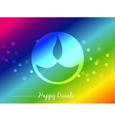 seasonal diwali festival vector image