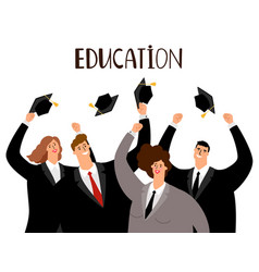 Adult education concept vector