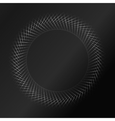 Black pattern background vector