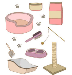 Cat stuff vector