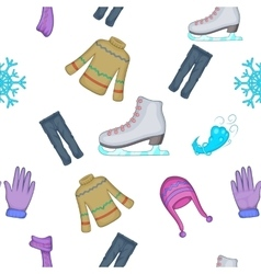 Clothing pattern cartoon style vector