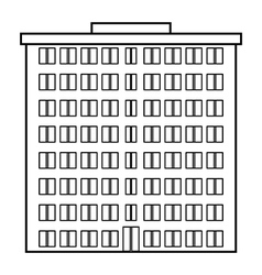 Condominium icon vector image