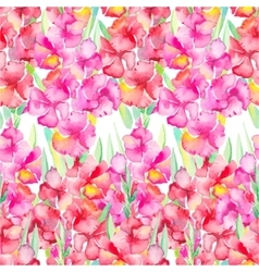 Gladiolus Floral pattern vector