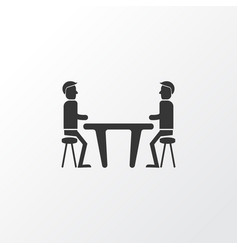 meeting room icon symbol premium quality isolated vector image