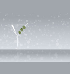 Official cocktail icon the unforgettable dry vector