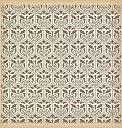 Seamless vintage ornament vector image