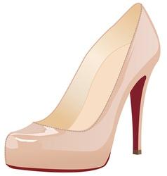 a shoe vector image vector image