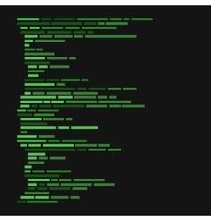Program Code Listing Abstract Programming vector image vector image