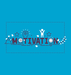 motivation success motivate concept vector image