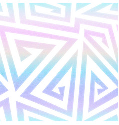 Rainbow geometric spirals pattern vector