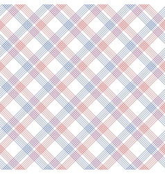 Red and blue checkered colorful seamless pattern vector