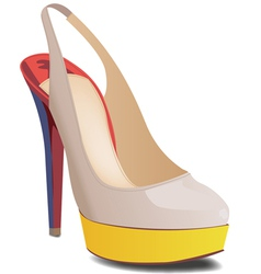 Slingback vector image