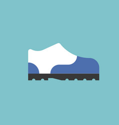 sneaker iconshoe in flat design vector image