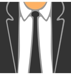 Symbol Business Suit vector image