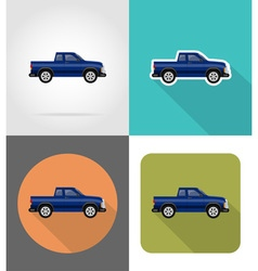 Transport flat icons 51 vector