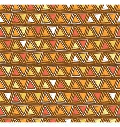 tribal triangle seamless pattern Geometric vector image