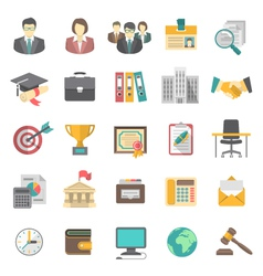 Resume icons vector