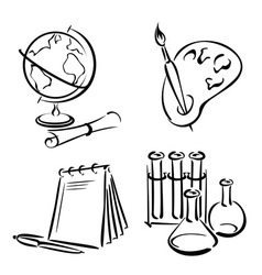 education equipment vector image