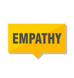 Empathy price tag vector