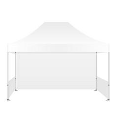 Outdoor canopy tent vector