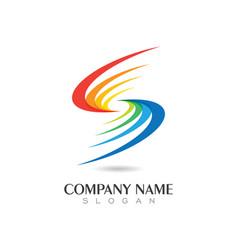 S letter logo vector