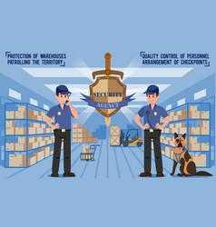 Security agency vector