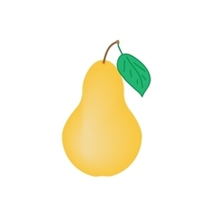 Sign pear 2708 vector image