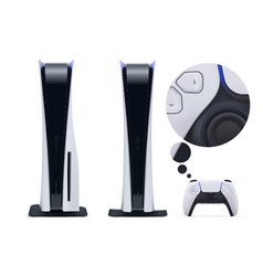Two realistic nextgen consoles with new gamepad vector