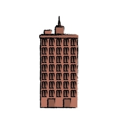 Urban city tower vector