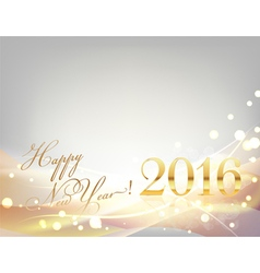 2016 card vector image vector image