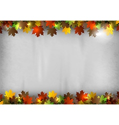 background autumn vector image