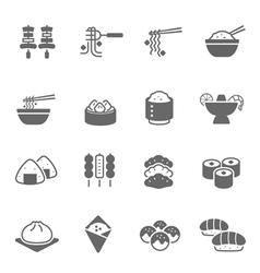 Icon set - Food vector image