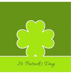 Abstract background with clover quatrefoil vector