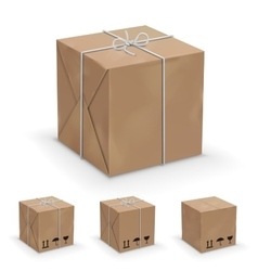 Boxes icon vector