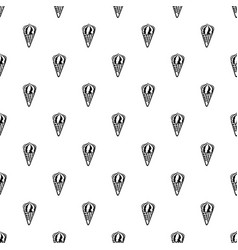 chocolate ice cream icon outline style vector image